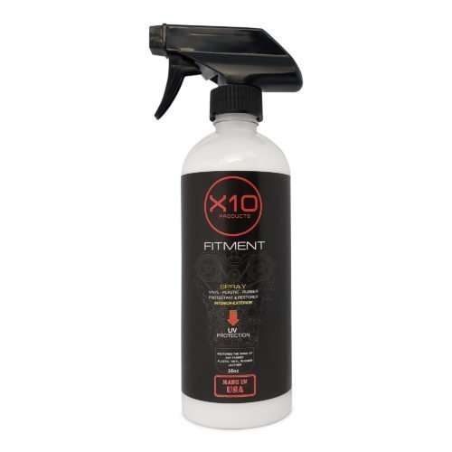 X10 Products spray Tire Shine for Car Wheel Shines and Protect - Fast No Grease or Oil (16OZ)
